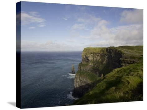 Cliffs of Moher, County Clare, Munster, Republic of Ireland, Europe-Oliviero Olivieri-Stretched Canvas Print