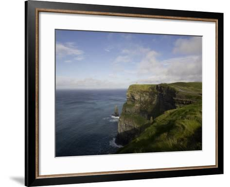 Cliffs of Moher, County Clare, Munster, Republic of Ireland, Europe-Oliviero Olivieri-Framed Art Print