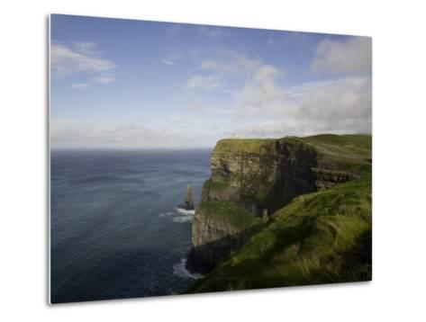 Cliffs of Moher, County Clare, Munster, Republic of Ireland, Europe-Oliviero Olivieri-Metal Print