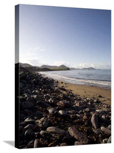 Waterville Sea Front, Waterville, County Kerry, Munster, Republic of Ireland, Europe-Oliviero Olivieri-Stretched Canvas Print