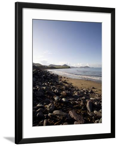 Waterville Sea Front, Waterville, County Kerry, Munster, Republic of Ireland, Europe-Oliviero Olivieri-Framed Art Print