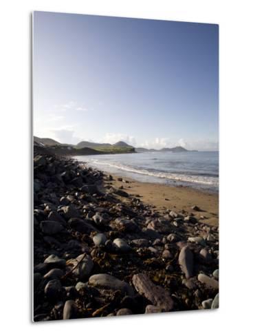 Waterville Sea Front, Waterville, County Kerry, Munster, Republic of Ireland, Europe-Oliviero Olivieri-Metal Print