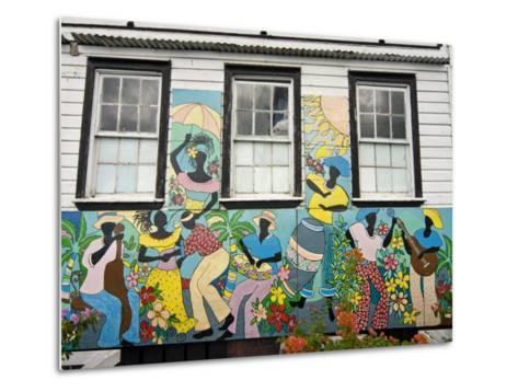 Old City, St.John's, Antigua, West Indies, Caribbean, Central America-Nico Tondini-Metal Print