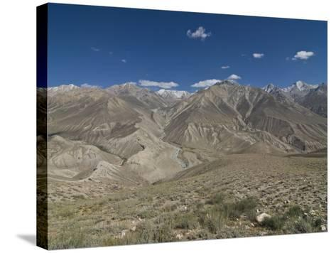 Mountain Landscape of the Hindu Kush, Wakhan Corridor, Afghanistan-Michael Runkel-Stretched Canvas Print