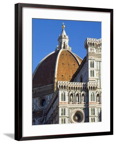 Duomo (Cathedral), Florence (Firenze), UNESCO World Heritage Site, Tuscany, Italy, Europe-Nico Tondini-Framed Art Print