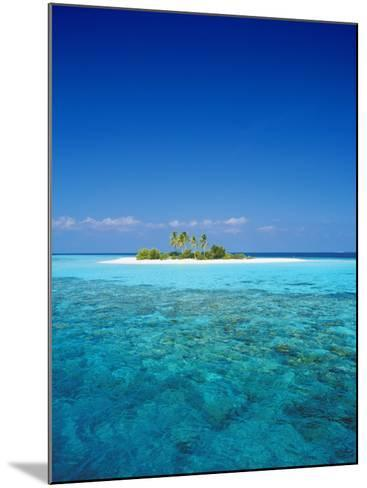 Deserted Island, Maldives, Indian Ocean-Sakis Papadopoulos-Mounted Photographic Print