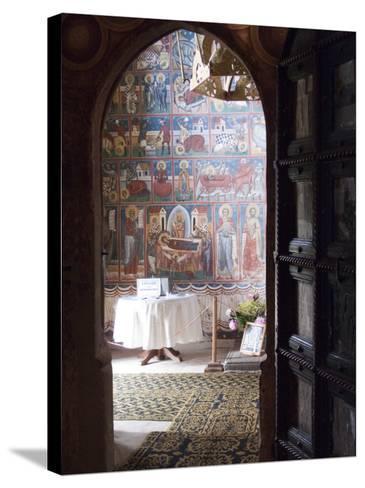 Probota Monastery, UNESCO World Heritage Site, Dolhasca, Bucovina, Romania, Europe-Marco Cristofori-Stretched Canvas Print