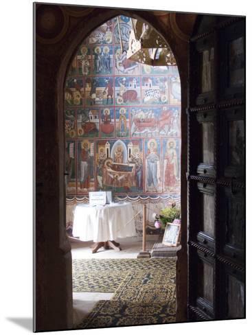 Probota Monastery, UNESCO World Heritage Site, Dolhasca, Bucovina, Romania, Europe-Marco Cristofori-Mounted Photographic Print