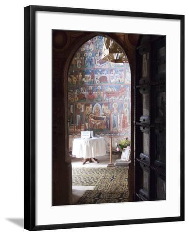 Probota Monastery, UNESCO World Heritage Site, Dolhasca, Bucovina, Romania, Europe-Marco Cristofori-Framed Art Print