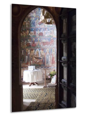 Probota Monastery, UNESCO World Heritage Site, Dolhasca, Bucovina, Romania, Europe-Marco Cristofori-Metal Print