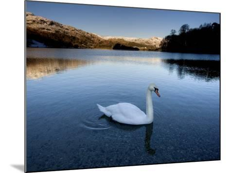 Grasmere, Near Ambleside, Lake District National Park, Cumbria, England, UK-Lee Frost-Mounted Photographic Print