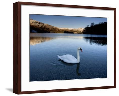 Grasmere, Near Ambleside, Lake District National Park, Cumbria, England, UK-Lee Frost-Framed Art Print