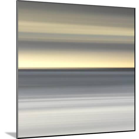 Abstract Image of the View from Alnmouth Beach to the North Sea, Alnmouth, England, UK-Lee Frost-Mounted Photographic Print