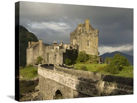 Eilean Donnan Castle, Near Dornie, Highlands, Scotland, United Kingdom, Europe-Richard Maschmeyer-Stretched Canvas Print