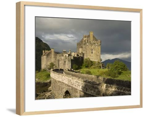 Eilean Donnan Castle, Near Dornie, Highlands, Scotland, United Kingdom, Europe-Richard Maschmeyer-Framed Art Print