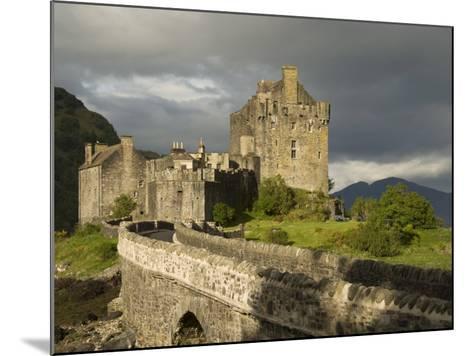 Eilean Donnan Castle, Near Dornie, Highlands, Scotland, United Kingdom, Europe-Richard Maschmeyer-Mounted Photographic Print