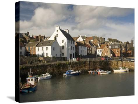 Harbour, Crail, Fife, Scotland, United Kingdom, Europe-Richard Maschmeyer-Stretched Canvas Print