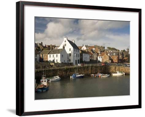 Harbour, Crail, Fife, Scotland, United Kingdom, Europe-Richard Maschmeyer-Framed Art Print