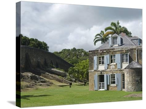 Nelson's Dockyard, Antigua, Leeward Islands, West Indies, Caribbean, Central America-Nico Tondini-Stretched Canvas Print
