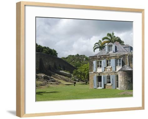 Nelson's Dockyard, Antigua, Leeward Islands, West Indies, Caribbean, Central America-Nico Tondini-Framed Art Print