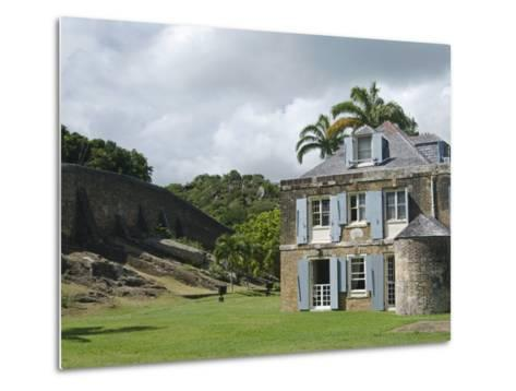 Nelson's Dockyard, Antigua, Leeward Islands, West Indies, Caribbean, Central America-Nico Tondini-Metal Print