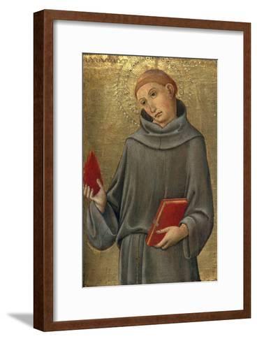 Saint Anthony of Padua-Sano di Pietro-Framed Art Print