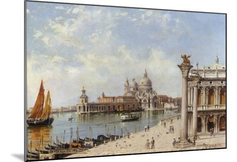 A View of the Piazzetta and Santa Maria della Salute, Venice-Antonietta Brandeis-Mounted Giclee Print