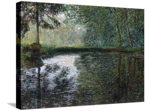 Coin D'Etang A Montgeron, 1876-Claude Monet-Stretched Canvas Print