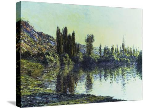 La Seine a Vetheuil, 1881-Claude Monet-Stretched Canvas Print