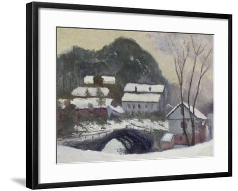 Sandviken, Norvega, 1895-Claude Monet-Framed Art Print