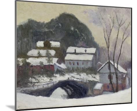 Sandviken, Norvega, 1895-Claude Monet-Mounted Giclee Print