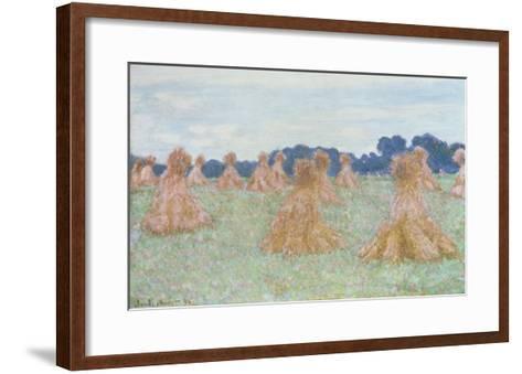 Les Demoiselles de Giverny, 1894-Claude Monet-Framed Art Print