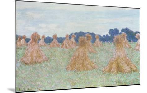 Les Demoiselles de Giverny, 1894-Claude Monet-Mounted Giclee Print