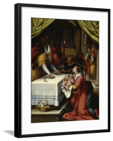 The Presentation in the Temple-Denys Calvaert-Framed Art Print