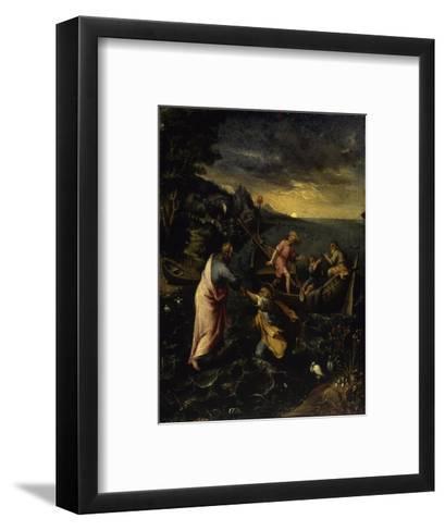 Christ Walking on the Water-Denys Calvaert-Framed Art Print