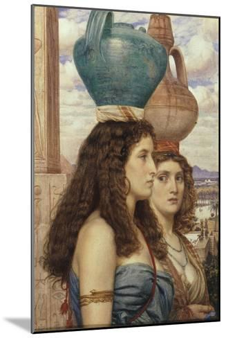 Water Carriers of the Nile, 1862-Edward John Poynter-Mounted Giclee Print