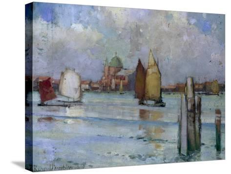 In the Venetian Lagoon, 1902-Edward Reginald Frampton-Stretched Canvas Print