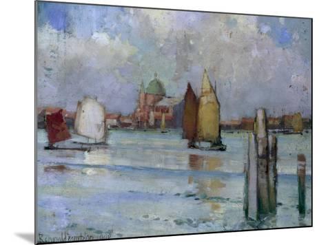 In the Venetian Lagoon, 1902-Edward Reginald Frampton-Mounted Giclee Print
