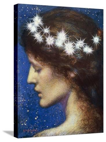 Night, c.1880-85-Edward Robert Hughes-Stretched Canvas Print