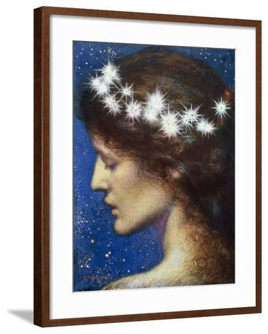 Night, c.1880-85-Edward Robert Hughes-Framed Art Print