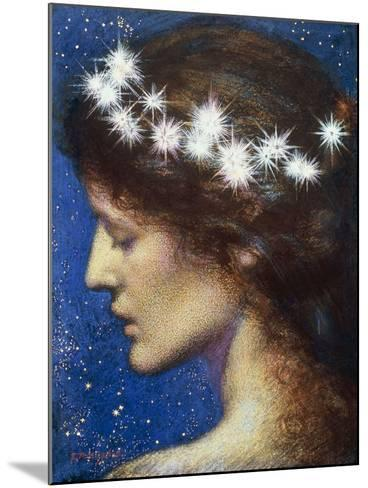Night, c.1880-85-Edward Robert Hughes-Mounted Giclee Print