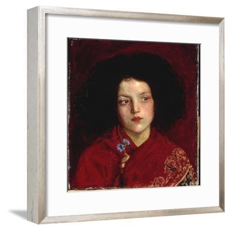 The Irish Girl, 1860-Ford Madox Brown-Framed Art Print