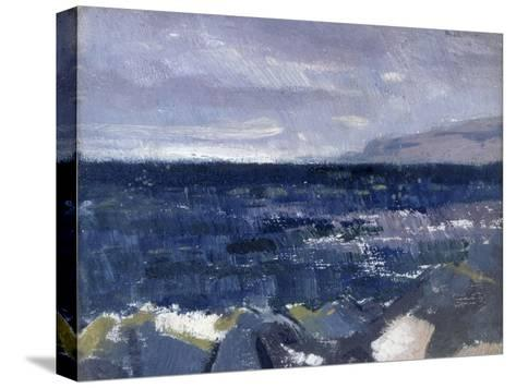 Treshnish Point from Iona-Francis Campbell Cadell-Stretched Canvas Print