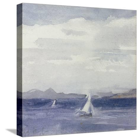 Yachts at Sea-Francis Campbell Boileau Cadell-Stretched Canvas Print
