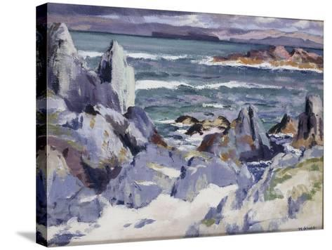 Iona-Francis Campbell Boileau Cadell-Stretched Canvas Print