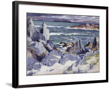 Iona-Francis Campbell Boileau Cadell-Framed Art Print