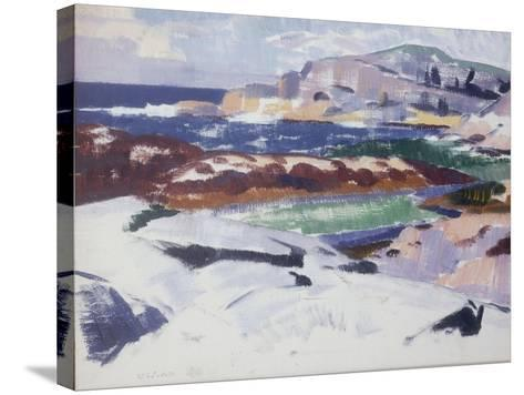 Iona, Port Ban-Francis Campbell Boileau Cadell-Stretched Canvas Print