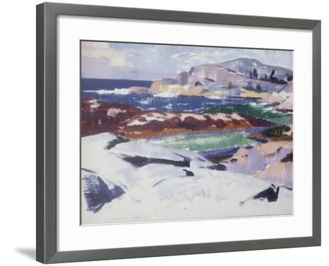 Iona, Port Ban-Francis Campbell Boileau Cadell-Framed Art Print