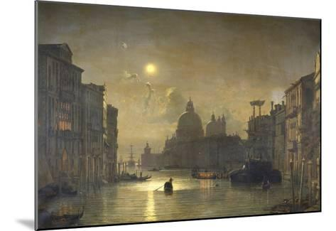 San Salute, Venise-Friedrich Nerly-Mounted Giclee Print