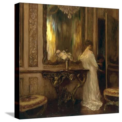 Le Pretendant-Gaston De Latouche-Stretched Canvas Print